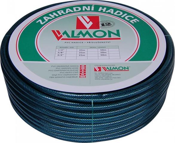 "VALMON Zahradní hadice PVC 1/2"" x 25m - neprůhledná Pmax 8BAR"