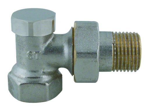 """Steno 408 Regulační ventil rohový 1/2"""""""