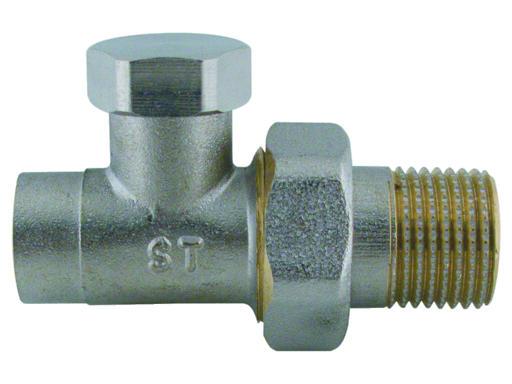 Steno 409D Regulační ventil přímý, pájecí-navařovací 15mm