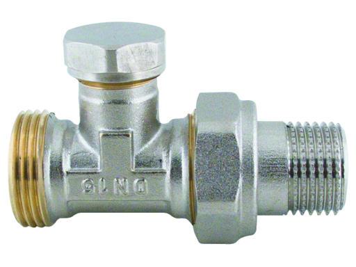 """Steno 410D Regulační ventil přímí s eurokonusem 1/2""""x3/4"""""""