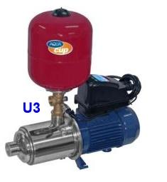 Aquacup Domácí vodárna Economy Control U3 - 1100W, 4800l/hod